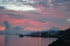 Mt Rainier from Gig Harbor