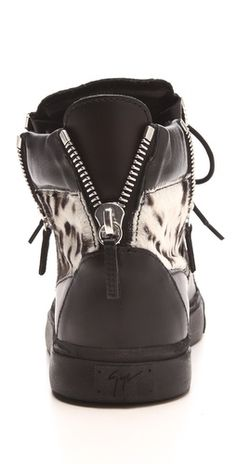 Giuseppe Zanotti Snow Leopard Sneakers -- #badass