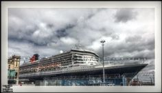 QUEEN MARY 2 TO CHERBOURG IN COTENTIN by ERIC VILLEY-et-Carine...ARTISTE PHOTOGRAPHE