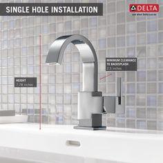 Delta Vero 553LF - Single Handle Lavatory Faucet List Price (US $):  $337.80