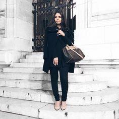 Night Out in Paris! paris parisjetaime fashion fashionblogger fashionstyle fashionistahellip