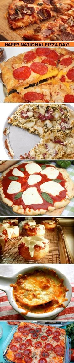 Happy National Pizza Day! Celebrate with these amazing recipes: http://abcn.ws/1vdyaOg