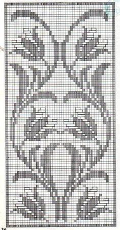 Crochet Tunic Pattern, Crochet Quilt, Crochet Cross, Tapestry Crochet, Crochet Patterns, Cross Stitch Borders, Cross Stitch Charts, Cross Stitch Designs, Cross Stitch Patterns