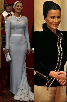 Fumi's Fashion Files: HRH SHEIKA MOZAH BINT NASSER AL MISSNED