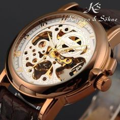 Skeleton Dial Watch