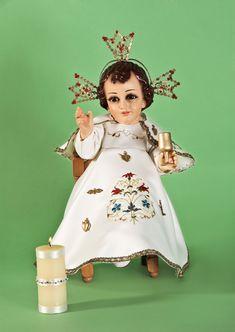 Niño Dios de los Milagros. Protege a niños recién nacidos y a los bebés no natos. También a las mujeres con embarazos de alto riesgo.