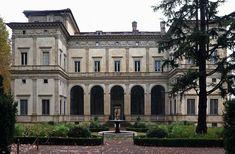 The Villa Farnesina is a Renaissance suburban villa in the Via della Lungara, in the district of Trastevere in Rome, central Italy. Villas, Italian Villa, Rome Travel, St Francis, Classical Architecture, 16th Century, Fresco, Italy, Mansions