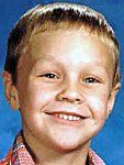 Missing- David Michael Borer, age 8 at time of his disappearance. Last seen at mile marker 82 on Parks highway while playing near Wasilla,Alaska on April 26,1989 at about 7pm. He was either going to a friends to play or a nearby sandbar on the Kashwitna River. By 9pm he could not be located. Search dogs traced his scent as far as the road, there was no sign of him elsewhere. Click for more info
