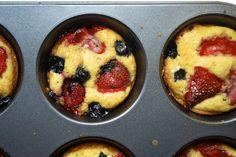 Always Order Dessert: Mini Mixed-Berry Cakes
