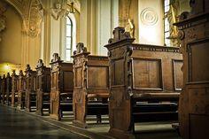 教会, 银行, 木, 长椅, 基督教, 教会光能, 老, 坐, 耶稣