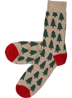 Xmas tree socks!  $6
