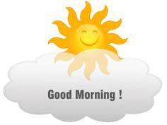 Smiley – good morning!