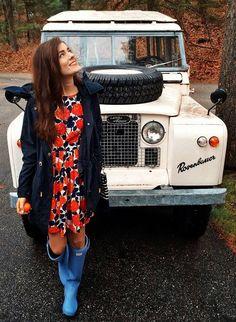 Classy Girls Wear Pearls Rosenbauer service Rover