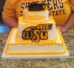Cake Decorating Store Wichita Ks : Wichita state University cake Party Pinterest The o ...