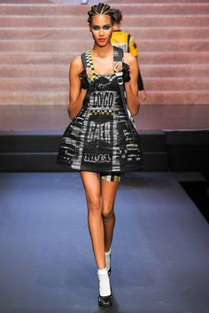 Jean Paul Gaultier Pret A Porter S/S 2015 Pasarela Paris
