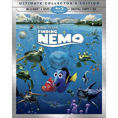 Finding Nemo (5 Discs) (Includes Digital Copy) (3D/2D) (Blu-ray/DVD) (Widescreen)     Finding Nemo Blu Ray, doesnt need to be 5 discs