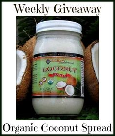 Enter To Win Raw Organic Coconut Spread