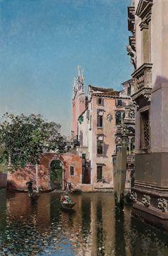 Martín Rico - Canal veneciano #6