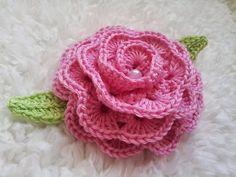 Blackberry Crochet: Crochet Afton Rose Pattern