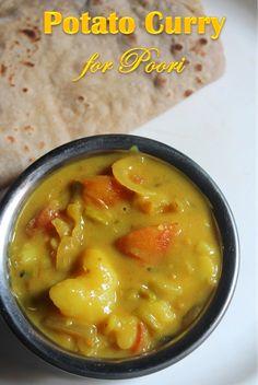 YUMMY TUMMY: Potato Curry for Poori - Aloo Curry Recipe - Aloo Sabzi Recipe