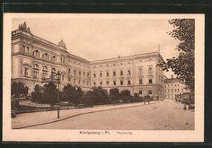 Königsberg, Blick auf die Regierung