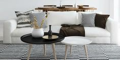 Following the #minimalistdecor trend? Let these beautiful interior design ideas inspire you. http://www.harpersbazaar.com/culture/interiors-entertaining/g5598/minimalist-interior-design-ideas/