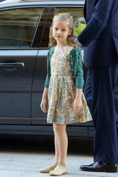 Princess Leonor of Spain on Easter