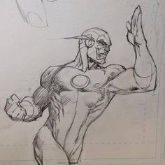 The Flash by Jim Lee
