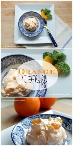 Orange fluff Jello Dessert ~ great for a picnic or party, easy and feeds a crowd!