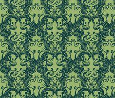 Skull & Tentacle in ecto green