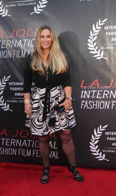 Tawny Kitaen presenter at La Jolla Fashion Film Festival UC San Diego Tawny Kitaen, Film Fashion, Red Carpets, La Jolla, Film Festival, San Diego, Sequin Skirt, Celebrities, Skirts