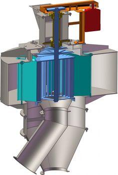 High efficiency Air Classifier » Air Classifier RHEWUM ABX