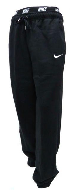New Men Nike Fleece Joggers Tracksuit Bottoms Track sweat Jogging Pants Black | eBay