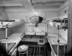 Rex  - Third Class, Four Bed Outside Stateroom #411.