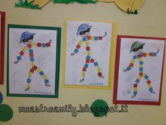 scuola dell'infanzia, classe, sezioni, bambini, maestra, Emily, decorazioni, pannello, maestraemily.blogspot.it, 2017, carnevale, arte, Mondrian, forme geometriche, colori, primari, modelli, arlecchino, quadrati, ritmi Activities For Kids, Crafts For Kids, Kids Carnival, Pre School, Holidays And Events, Pixel Art, Coloring Pages, Kindergarten, Projects To Try
