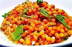 Fregola Sarda with Tomato, Pecorino, and Basil  Recipe on Food52 recipe on Food52