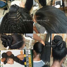 Beauty can braid Black Girl Braids, Braids For Black Hair, Girls Braids, Crochet Marley Hair, Crochet Hair Styles, Crochet Braids, Hot Hair Styles, Curly Hair Styles, Natural Hair Styles