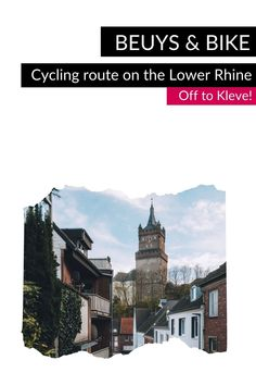 """Follow in the footsteps of the artist Joseph Beuys on the Lower Rhine and discover exciting places that tell about his life and work by bike on the """"Beuys & Bike"""" cycling route. One place on the route is Kleve: Beuys grew up here and spent most of his time exploring the city on his bicycle. #VisitNRW #germany #cycling #lowerrhine #cyclingtour #cyclingvacation #bike #holidays #outdoorexperiences #culture #culturtrip © Tourismus NRW e.V., Johannes Höhn Parks, Gothic Buildings, Mirror Lake, North Rhine Westphalia, French Revolution, Medieval Castle, Nature Reserve, Hotel Spa, Physical Activities"""