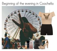 """Beginning of the evening in Coachella"" by mllestylesusa ❤ liked on Polyvore featuring Casetify, Fiorelli, Alice + Olivia, Tory Burch, Yves Saint Laurent, Victoria's Secret and Forever 21"
