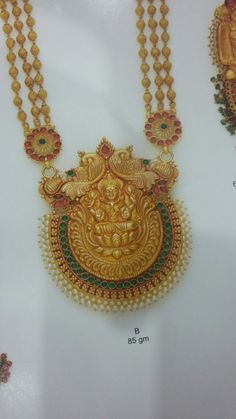 Laxmiharam Gold Jewellery Design, Gold Jewelry, Beaded Jewelry, Gold Pendent, Gold Models, Simple Jewelry, Jewelry Patterns, Necklace Designs, Luxury Jewelry