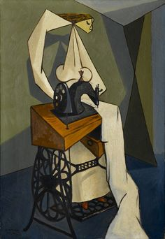 Oscar Dominguez:  La Couturière (1943)
