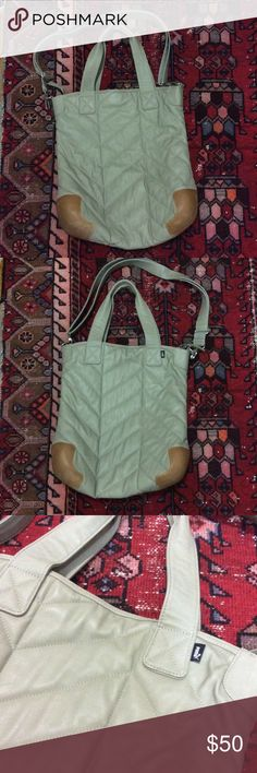 Gray Puma Tote It's only used a few times, in excellent condition. Puma Bags Totes
