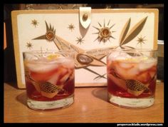 The Vieux Carré Cocktail  - New Orleans, recipe at site