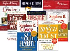 Stephen Covey. I have read The 7 Habits of Highly Effective People and his book on a successful marriage and family! Great books, highly recommend!