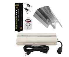 Powermaxx GLSETWL9 1000Watt Light Digital Dimmable HPS Grow Light System for Plants  Wing Set *** Please continue read.