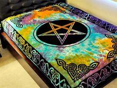 fairy pentacle | celtic pentacle pentagram tie dye left multiple pentacles right large ...