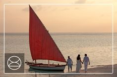 Sail away as the sun sets on your wedding day, Constance Moofushi, Maldives