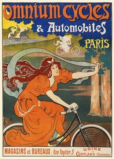 1897 OMNIUM CYCLES PARIS