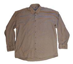 SeidenSticker men's shirt sport long sleeve size L 100% cotton original #SeidenSticker #shirt