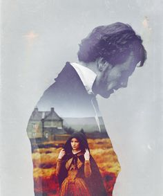 Wonderful graphic of Rochester and Jane (JE '11) from Tumblr (mysecretlights)
